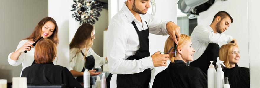 mobilier de coiffure