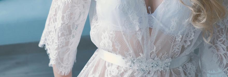 lingerie de mariage
